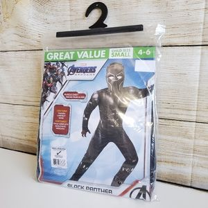 NWT Marvel Avengers End Game Black Panther Costume